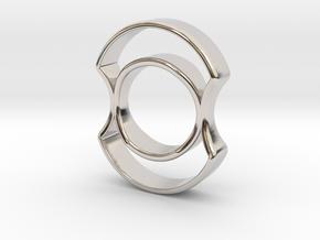 Micro Spinner in Platinum
