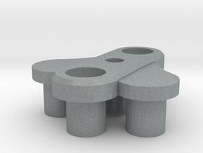 [prototype] Dobby Drone 3-blade center hub in Polished Metallic Plastic