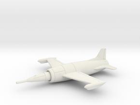 (1:144) Leduc 0.21  in White Natural Versatile Plastic