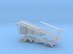 1/64 Stinger Truck Frame and Body in Smooth Fine Detail Plastic