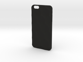 iPhone 6 / 6S Plus Case_Hexagon in Black Premium Strong & Flexible