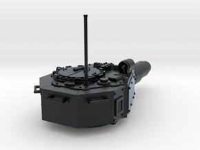 28mm Invader tank turret in Black Hi-Def Acrylate