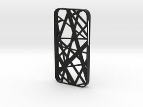 iPhone SE/5S case_Intersection in Black Premium Versatile Plastic