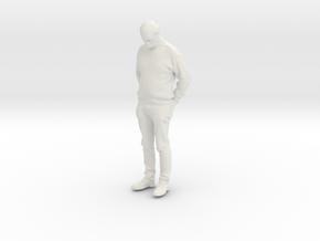 Printle C Homme 287 - 1/30 - wob in White Natural Versatile Plastic