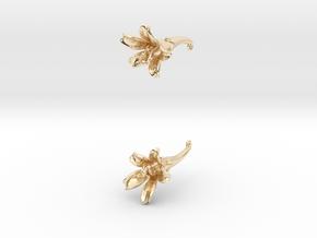 Honeysuckle in 14k Gold Plated Brass
