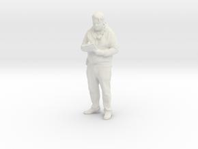 Printle C Homme 908 - 1/30 - wob in White Natural Versatile Plastic