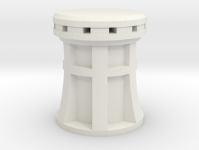 XIX cenury Capstan 1:24 scale in White Natural Versatile Plastic