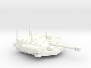 28mm IFV unmanned turret auto cannon in White Processed Versatile Plastic