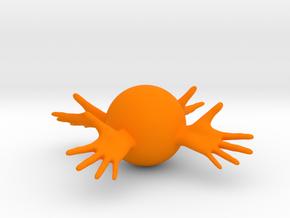 Reach Around in Orange Processed Versatile Plastic