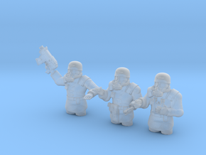 28mm Metal Division tank commanders in Frosted Extreme Detail