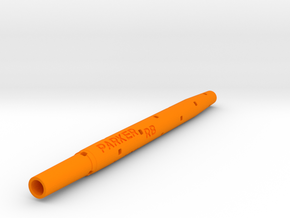 Adapter: Parker RB to Uni UMR-109 in Orange Processed Versatile Plastic