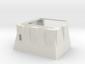 HOF043 in White Natural Versatile Plastic