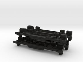 20235 Sideframe for Hornby Dublo E3002 model, set  in Black Natural Versatile Plastic