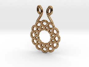 Harmony Pendant in Polished Brass