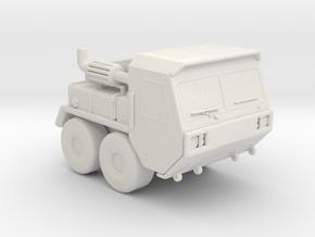 MK48 tractor 1:160 scale in White Natural Versatile Plastic