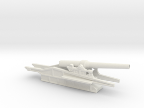 canon de 240l mle17 st chamond 1/72 ww1 artillery  in White Natural Versatile Plastic