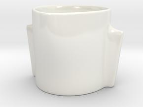 Jet Set / Fuselage in Gloss White Porcelain