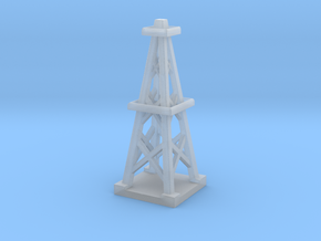 2 Inch Oil Derrick in Smooth Fine Detail Plastic