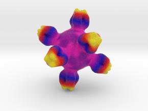 Flu Vaccine in Full Color Sandstone