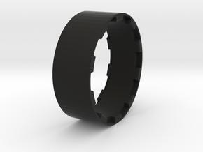 sawtooth beatlock wheels 2.0, part 3/3 ring in Black Premium Strong & Flexible