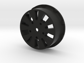 sawtooth beatlock wheels 2.0, part 2/3 rear in Black Premium Strong & Flexible