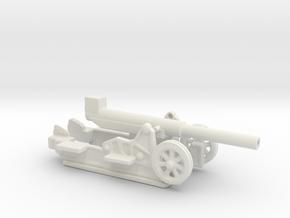 Canon 220L Schneider Model 1917 1/144  in White Natural Versatile Plastic