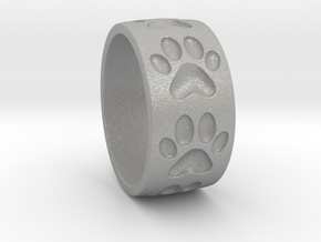 Dog Paw Ring in Aluminum: 5 / 49