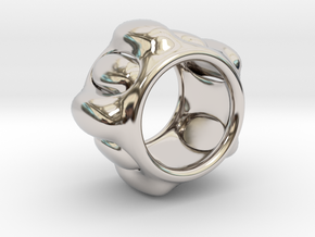 Cell ring in Rhodium Plated Brass