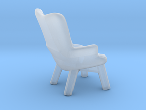 Miniature Iceberg Armchair - Maisons Du Monde in Smooth Fine Detail Plastic: 1:48 - O