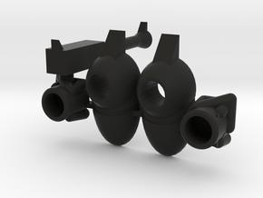 Xandroid Accessories in Black Natural Versatile Plastic