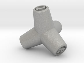 Tetrapod D4 in Aluminum