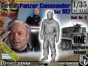 1/35 German Tanker Karl-Otto Set102 in Smooth Fine Detail Plastic