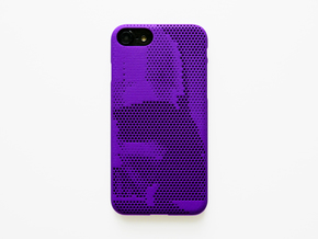 iPhone 7 case_Darth Vader in Purple Strong & Flexible Polished