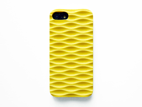 iPhone 7 & 8 Case_Seamless in Yellow Processed Versatile Plastic