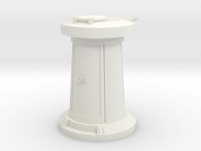 Large Hoth Turret  in White Natural Versatile Plastic
