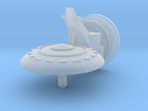 Dish Turret in Smoothest Fine Detail Plastic