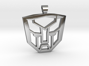 Autobots [pendant] in Polished Silver