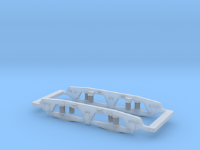 BR Class 47 cosmetic bogie, fit for Mehano SD-40 in Smoothest Fine Detail Plastic