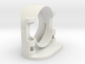 Katana oval hilt - 24mm Speaker in White Natural Versatile Plastic