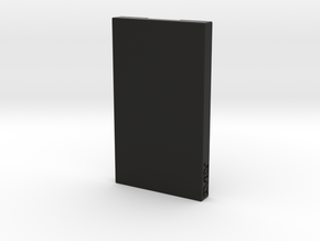 Business Card Holder / Case in Black Natural Versatile Plastic