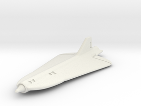 Lockheed D-21 1/285 6mm in White Natural Versatile Plastic