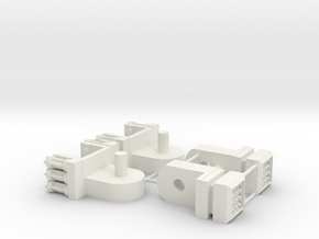 Unified Lion's Upgrade 001 - The Lion's Knees in White Natural Versatile Plastic