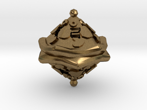D10 Balanced - Pizza in Natural Bronze