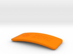 Raspberry Pi Zero Wi-Fi Case Top in Orange Processed Versatile Plastic