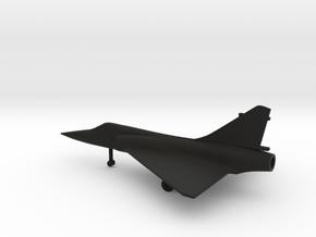 Dassault Mirage 2000 in Black Natural Versatile Plastic: 1:200