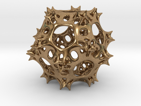 Pseudo-Radiolaria in Natural Brass