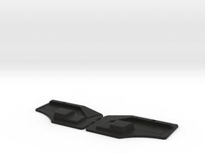 FRONT PANEL MB SK  in Black Premium Versatile Plastic