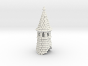 HOF062 - Spire in White Natural Versatile Plastic