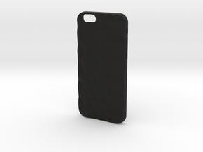 iPhone 6 & 6S case_Cube in Black Premium Versatile Plastic
