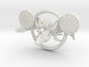 Pegasus and Lachenalia in White Natural Versatile Plastic